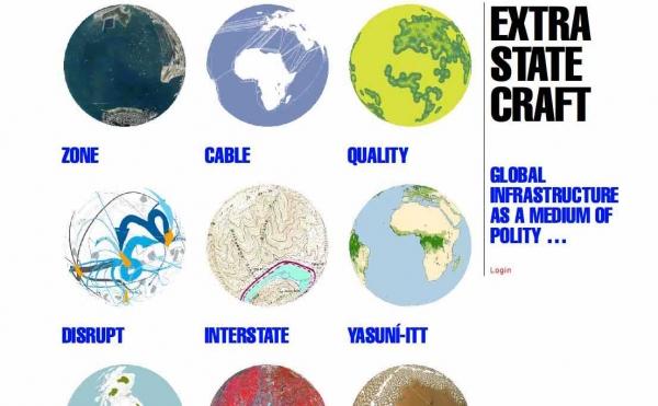 Website: Extrastatecraft: Global Infrastructure as a Medium of Polity